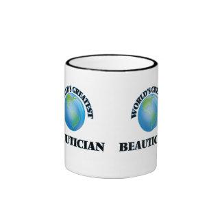 World's Greatest Beautician Coffee Mug