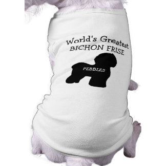 Worlds Greatest Bichon Frise Dog Shirt