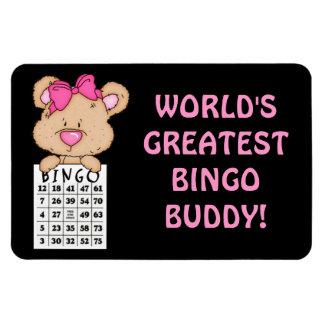 World's Greatest Bingo Buddy magnet