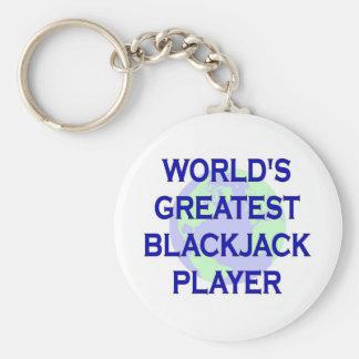 World's Greatest Blackjack Player Keychain
