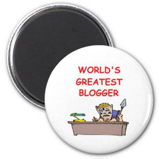 world's greatest blogger magnet