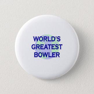 World's Greatest Bowler 2 Inch Round Button