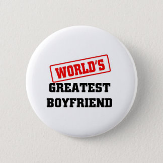 World's greatest boyfriend 2 inch round button