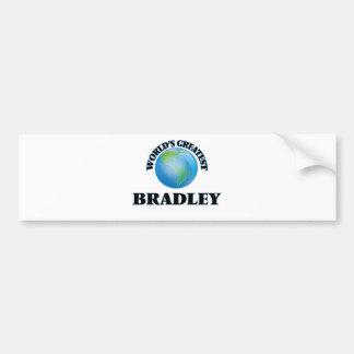 World's Greatest Bradley Bumper Sticker