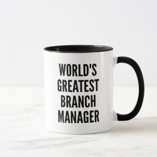 Worlds Greatest Branch Manager Mug