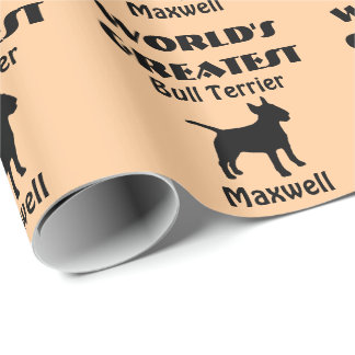 Worlds Greatest Bull Terrier Wrapping Paper