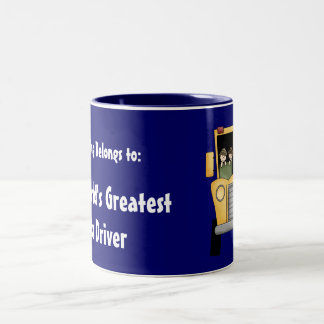 World's Greatest Bus Driver Customizable Mug