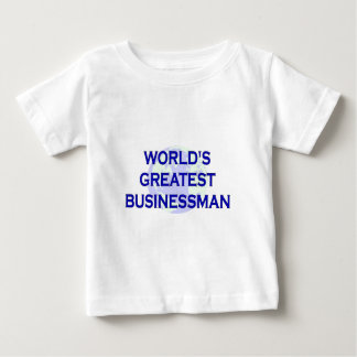 World's Greatest Businessman Baby T-Shirt