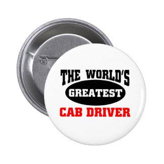 World's greatest Cab Driver 2 Inch Round Button