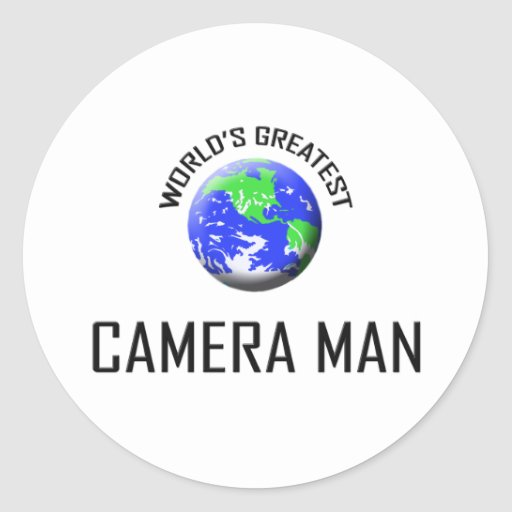 World's Greatest Camera Man Sticker