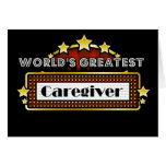 World's Greatest Caregiver Greeting Card