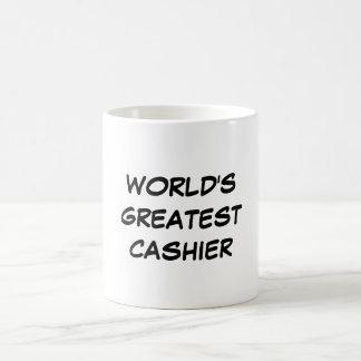 """World's Greatest Cashier"" Mug"