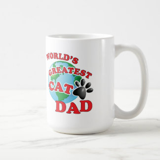 World's Greatest Cat Paw Cat Dad Coffee Mug