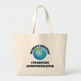 World's Greatest Charities Administrator Canvas Bags