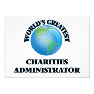 World's Greatest Charities Administrator Cards