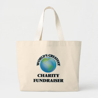World's Greatest Charity Fundraiser Tote Bag