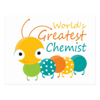 World's Greatest Chemist Postcard