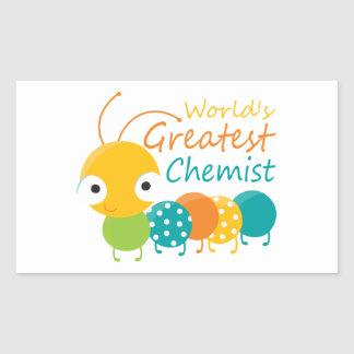 World's Greatest Chemist Rectangle Stickers