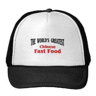 World's Greatest Chinese Fast Food Trucker Hats