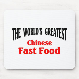 World's Greatest Chinese Fast Food Mouse Pad
