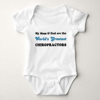 World's Greatest Chiropractors (Mom & Dad) Baby Bodysuit