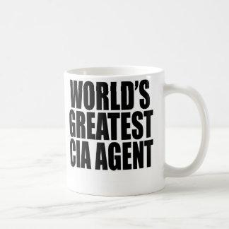 World's Greatest CIA Agent Basic White Mug