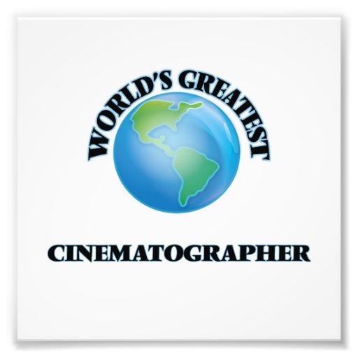 World's Greatest Cinematographer Photo Print