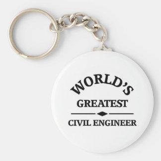 World's greatest Civil Engineer Key Chains