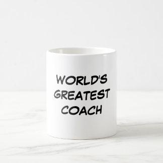 """World's Greatest Coach"" Mug"