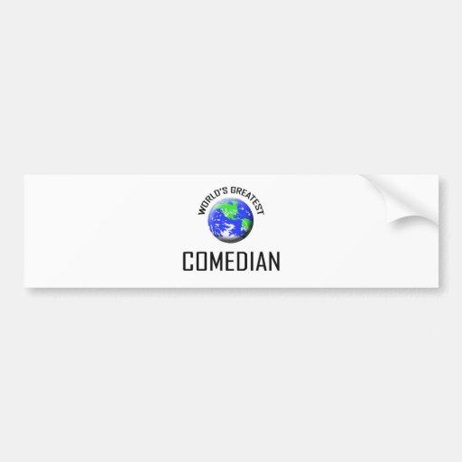 World's Greatest Comedian Bumper Stickers
