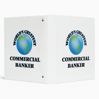 World's Greatest Commercial Banker Binders