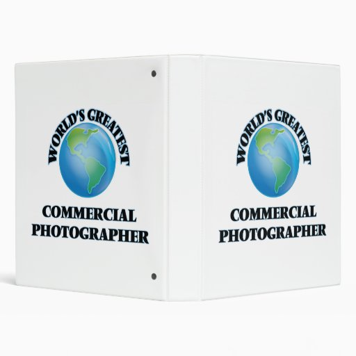 World's Greatest Commercial Photographer Binder