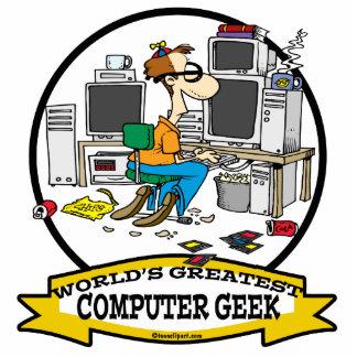 WORLDS GREATEST COMPUTER GEEK MEN CARTOON CUT OUT