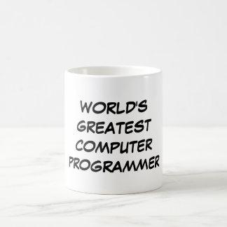 """World's Greatest Computer Programmer"" Mug"