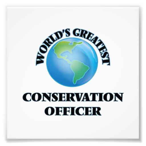 World's Greatest Conservation Officer Art Photo