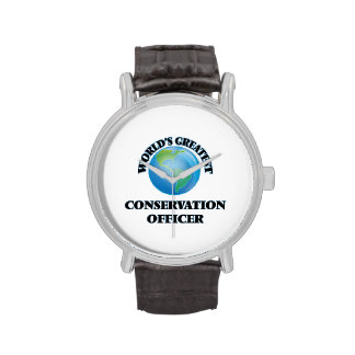 World's Greatest Conservation Officer Watch