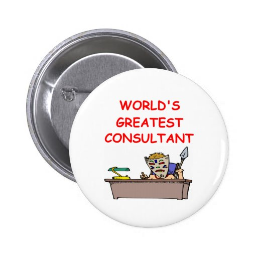 world's greatest consultant buttons