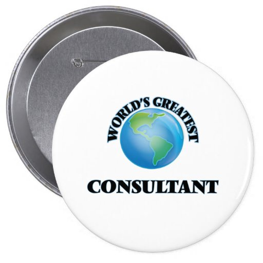 World's Greatest Consultant Pins