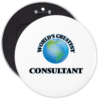 World's Greatest Consultant Pin