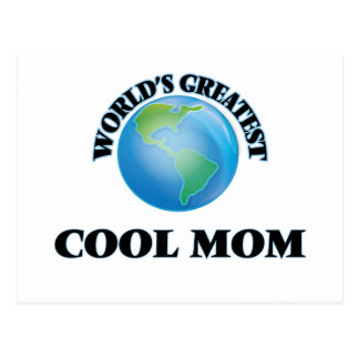 World's Greatest Cool Mom Post Cards