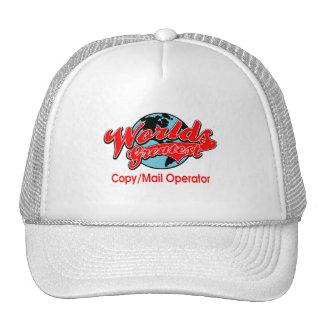 World's Greatest Copy Mail Operator Trucker Hat