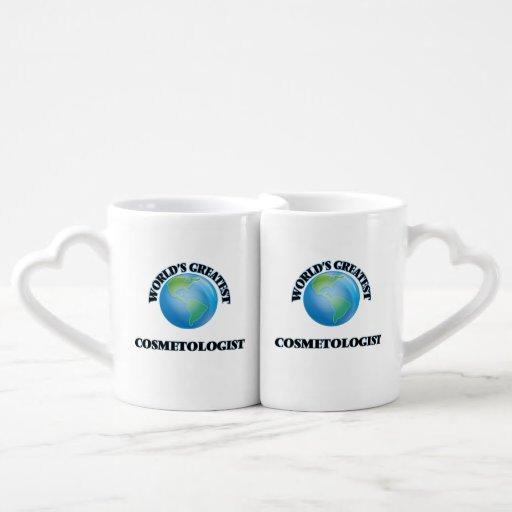 World's Greatest Cosmetologist Couple Mugs
