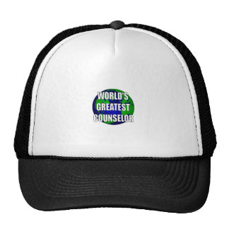 World's Greatest Counselor Mesh Hat