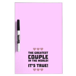 Worlds greatest couple Z8r93 Dry Erase Board