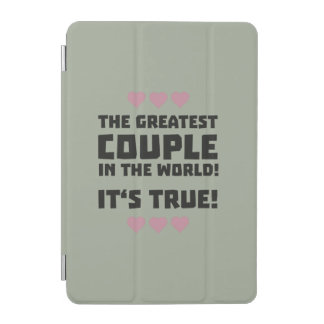 Worlds greatest couple Z8r93 iPad Mini Cover