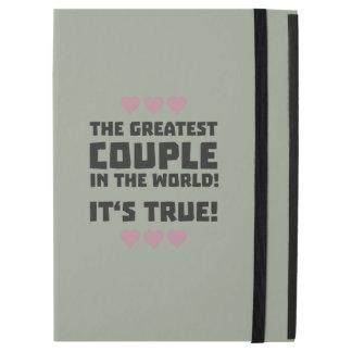 "Worlds greatest couple Z8r93 iPad Pro 12.9"" Case"