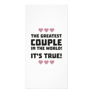 Worlds greatest couple Z8r93 Picture Card