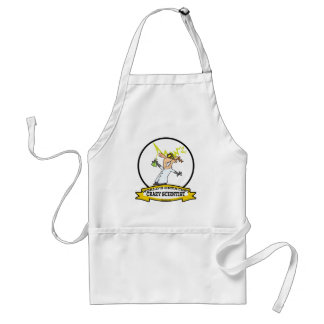 WORLDS GREATEST CRAZY SCIENTIST CARTOON STANDARD APRON