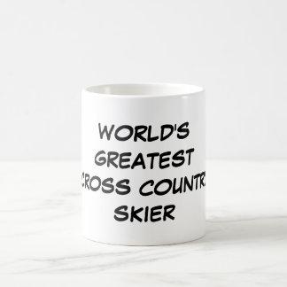 """World's Greatest Cross Country Skier"" Mug"