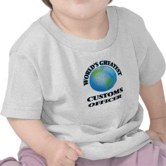 World's Greatest Customs Officer Tee Shirts